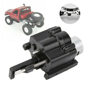 2 Speed Gearbox + Shift Servo Parts Fit for 1:16 WPL RC Car Upgrade Accessory