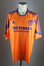 Schalke 04 Trikot Victoria Versicherungen Gr. XL 2003-2004 Adidas Shirt Away