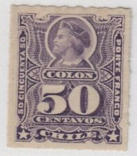 Chile,Scott#34,50c,MH,Scott=$45