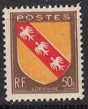 FRANCE TIMBRE NEUF N° 757 ** ARMOIRIES LORRAINE