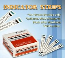 Dental Tattoo Indicator Strips Autoclave Steam Sterilization 600 Strips per Box