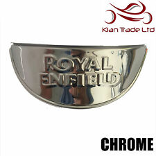 "ROYAL ENFIELD CHROME HEADLIGHT LAMP SHADE VISOR 7"" - BRAND NEW"