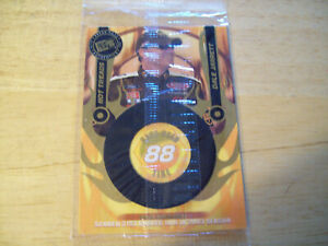 DALE JARRETT HOT TREADS AUTHENTIC RACE USED TIRE CARD 0589/1250 PRESS PASS 2004