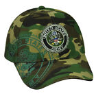 United States Army Strong Camouflage Camo  Military Hat Cap USA Adjustable