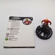 Heroclix DC Elseworlds set Kid Flash (Justice Rider) #012 Common figure w/card!