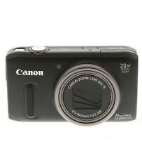 Canon Powershot SX260HS Digital Camera, Black {12.1 M/P} - EX