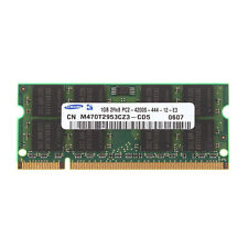 For Samsung RAM 1GB DDR2 2RX8 PC2-4200S 533mhz 200pin SODIMM Laptop Memory Intel