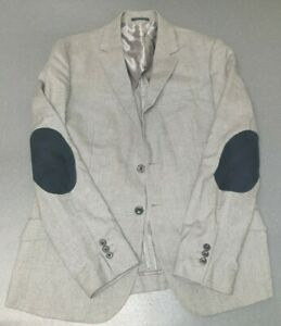 Joe Casley Hayford By John Lewis Mens Elbow Patches Sport Jacket Size Large