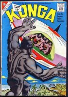 CDC Comics, Konga #7 - July 1962, $0.12 - VG+/F