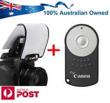 RC-6 Remote + Flash Diffuser Canon EOS 70D 7D 2 750D 700D 100D 650D 60D 600D