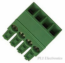 TE CONNECTIVITY / BUCHANAN   284506-4   TERMINAL BLOCK, PLUG, 3.5MM, 4WAY