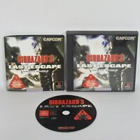 BIOHAZARD 3 Last Escape Item Ref/ccc PS1 Playstation Capcom JAPAN Game p1