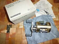 Shimano Calcutta 400S Level Wind Casting Reel made in Japan w/ Box & More