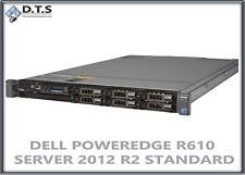 DELL POWEREDGE R610 SERVER  2.93GHZ 48GB H700 SSD WINDOWS SERVER 2012 R2