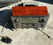 02-05 LEXUS SC430 RADIO AM FM STEREO CASSETTE CD DISC PLAYER OEM 86120-24390