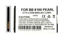 5PCS New Blackberry Pearl, 8110, 8120, 8130, 8100, Flip 8220,Flip 8230 Battery
