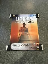 Usher Original Concert Poster From Germany Berlin 2002