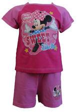 Ensemble pyjama rose pour fille de 2 à 16 ans