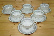 "Franconia Argenta (4) Cups, 2 3/8"" & (6) Saucers, 6"""