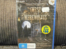 Hobby leisure software ebay new sealed pc cd rom game the curse of the werewolves collectors edition stopboris Image collections
