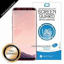 [2 Pieces] Samsung Galaxy S8 Plus FULL Screen Coverage Front Screen Protector