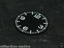 Plain Pilot Aviation Aviator Dial for DG 2813 movement 29mm White Super luminova