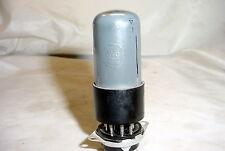 RCA 6V6GT Tube - black plates, smoke glass, tested 99%