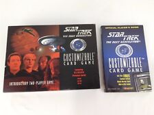 Star Trek: Next Generation Customizable Card Game Box and Book
