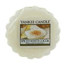 Yankee Candle Wax Melt Wax Tarts Spiced White Cocoa NEW