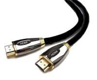 5m Premium HDMI Cable v1.4 Gold High Speed HDTV UltraHD HD 2160p 4K 3D PS3 DVD