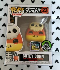 Funko Pop Halloween Cutey Corn 23 Fantastic Plastik Vinyl Figure & Protector