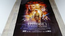 STAR WARS la menace fantome episode 1  !  g lucas affiche cinema