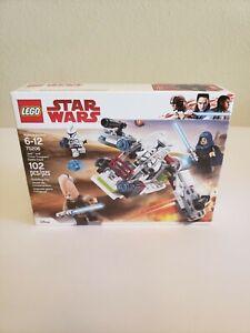 Lego Star Wars 75206 Jedi and Clone Trooper Battle Pack Brand New