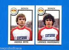 CALCIATORI PANINI 1982-83 - Figurina-Sticker n. 494 - MITRI#MARRONAR- MONZA -Rec