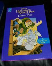 Disney Works The Hunchback of Norte Dame Forever Free Pull Tab Hardcover Book