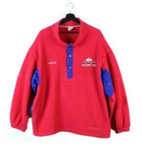 90s HEAD Sportswear USA Olympic Team Albertville vintage fleece jacket pullover