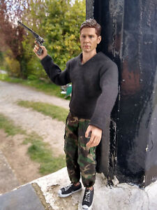 """1 x Dean Winchester fan-made 1:6 scale 12"""" inch TV action figure Supernatural"""