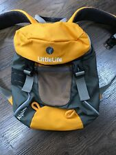 LittleLife Alpine 2 Toddler Kids Backpack with Detachable Safety Reins Yellow