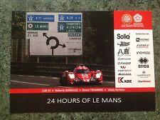 CARD LE MANS 24 HOURS 2017 : MANOR 25 / GONZALEZ TRUMMER PETROV