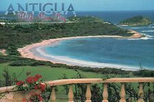 Half Moon Bay, Antigua, West Indies, Caribbean, White Sand Beach --- Postcard