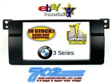 BMW 3 Series E46 Double DIN 2-DIN 2DIN Dash Bezel Radio Install Kit 1999-2005