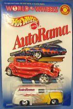 Hot Wheels'56 Ford Truck World of Wheels AutoRama White w/flames 1/64 scale
