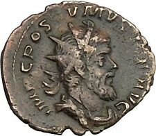 POSTUMUS 260AD VERY RARE Ancient Gallic Roman Coin  Victory Nike  Cult  i39260