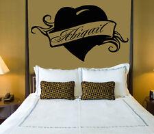 Abigail Personalized Name Lettering Custom Wall Art Decor Vinyl Sticker z1000