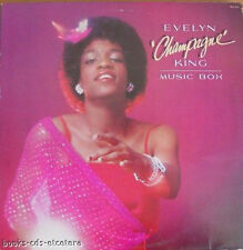 "LP ~ EVELYN ""CHAMPAGNE"" KING - Music Box ~ 1979 - USA"