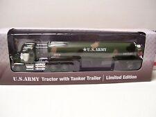 Menards 1:48 Diecast Military US Army Tractor with Tanker Trailer - NIB!!