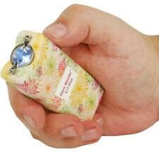12 Million Volt Mini Stun Gun LED Flashlight Rechargeable Self Defense Flower