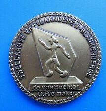 """#0953# Belgique: Médaille Jeton """" Tweedaagse Van Vlaanderen Blankenberge"""""""