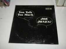 JOE JONES - YOU TALK TOO MUCH - ORIG ROULETTE RECORDS LP - OIS - Doo Wop - EX/G+