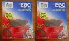 "EBC Carbon Graphite ""X"" Front Brake Pads (Set of 2) 2003-05 Gas Gas Wild HP 240"